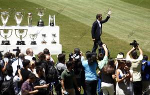 Rueda de prensa de Florentino Pérez para despedir a Iker Casillas