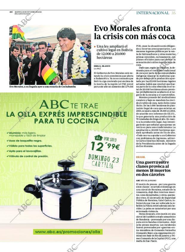 Olla a Presión Profesional Diario ABC | Cosas y muestras