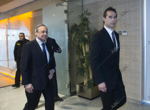 Presentación de Julen Lopetegui como nuevo entrenador del Real Madrid