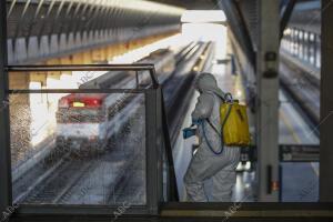 En la imagen, la estación de Santa Justa