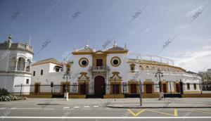 En la imagen, la plaza de toros de la Real Maestranza