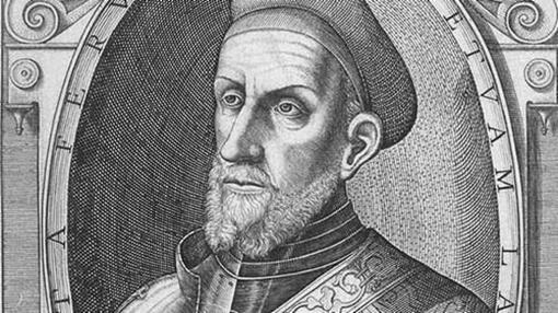 Retrato de Diego García de Paredes grabado por Juan Schorquens