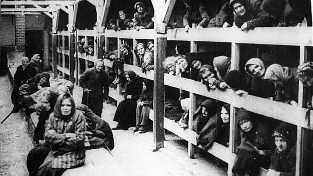 Prisioneros del campo de concentración de Auswitch