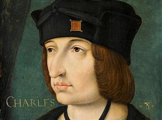 Retrato de Carlos VIII de Francia