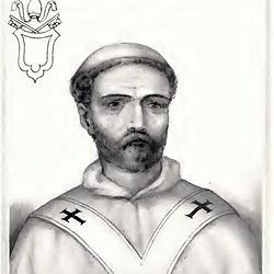 Retrato idealizado de Juan XI