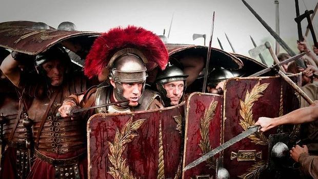 Fotograma de la película «La legión del Águila»