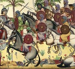 Caballería musulmana en el siglo XVII
