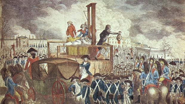 Más de 40.000 personas fallecieron durante el terror francés