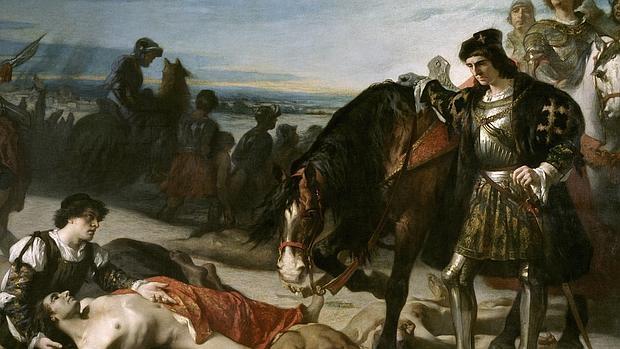 El Gran Capitan contemplando el cadaver del duque de Nemours