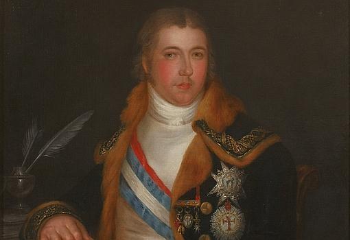 Manuel Godoy, Príncipe de la Paz, valido del rey y -extraoficialmente- amante de la reina