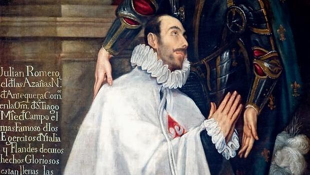 Julián Romero, maestre de campo y caballero de Santiago