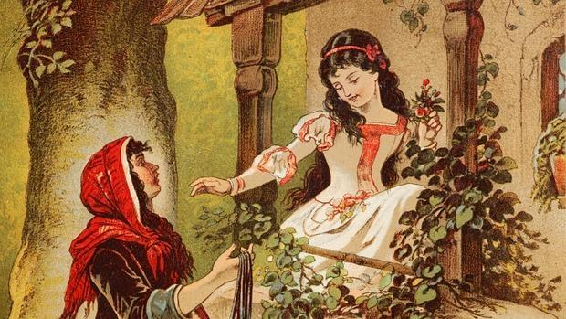 Ilustración de Carl Offterdinger sobre el popular cuento de los hermanos Grimm