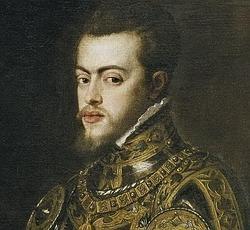 Felipe, Príncipe de Asturias, por Tiziano