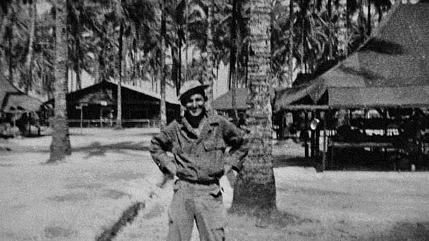 Delmer Berg, durante la Segunda Guerra Mundial