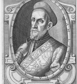 Grabado de Diego García de Paredes