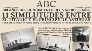 El misterio del «Titanic español», el vapor que se hundió por una borrachera