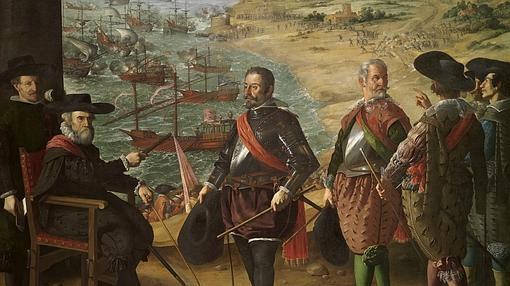 Defensa de Cádiz contra los ingleses, de Zurbarán.