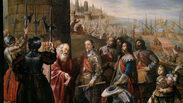 El socorro de Génova por el segundo marqués de Santa Cruz, de Antonio de Pereda