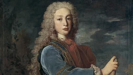 Retrato de Luis I como Rey de España, por Jean Ranc (1724).