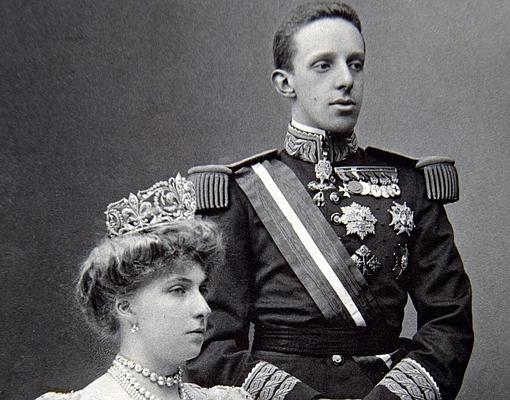 Alfonso y Victoria Eugenia