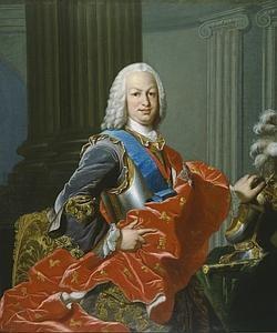 Retrato del rey Fernando VI de España (1713-1759)