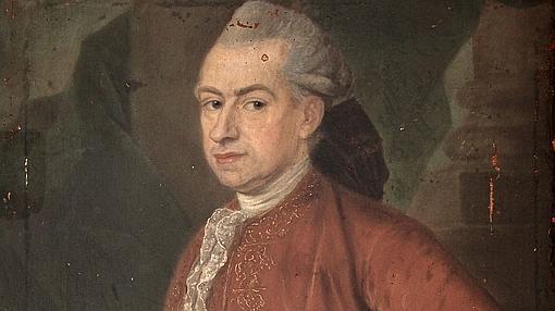 Zenón de Somodevilla y Bengoechea, marqués de la Ensenada, por Pierre Jouffroy