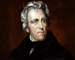 Retrato de Andrew Jackson