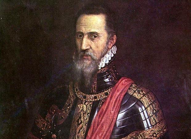 Retrato de Fernando Álvarez de Toledo, por Tiziano