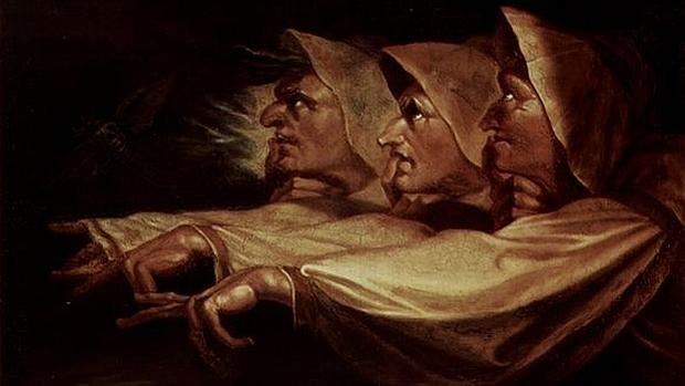 Las tresw brujas, de Johann Heinrich Füssli