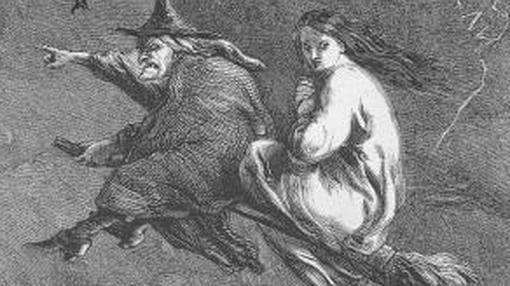 La visión clásica de una bruja
