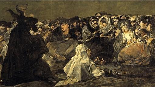 «El Aquelarre», pintura negra de Francisco de Goya