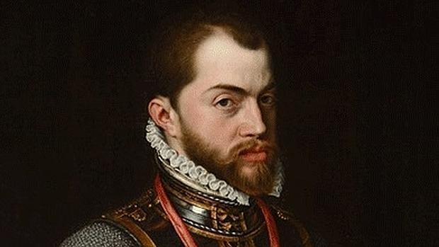 Felipe II por Antonio Moro