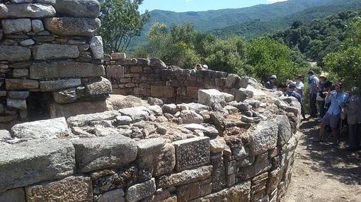 Posible tumba de Aristóteles en Estagira (Grecia)