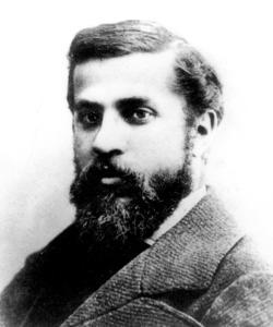Antonio Gaudí, en 1878, a los 26 años