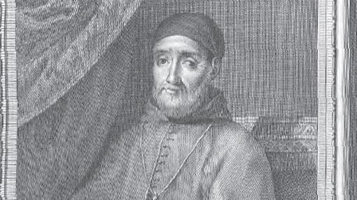 Grabado de Bartolomé Carranza en el Libro «Retratos de Españoles ilustres»