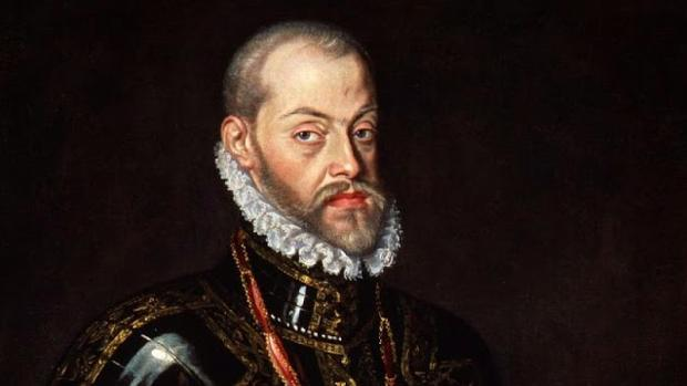 Retrato de Felipe II a finales de su reinado
