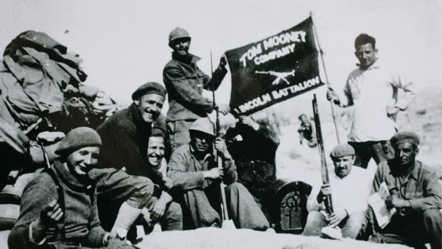 El veterano Dave Smith, dela brigada Lincoln en Jarama