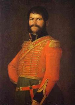 Lienzo atribuido a Goya.