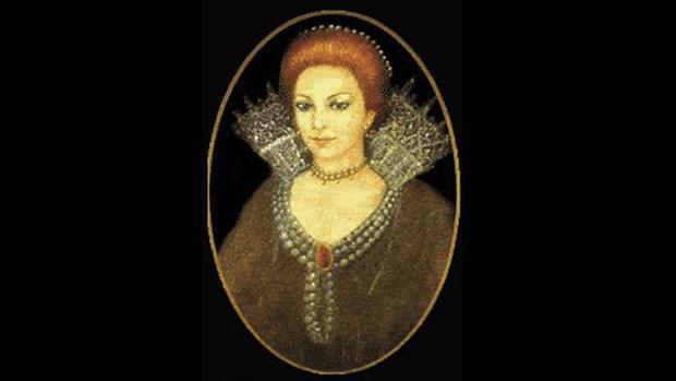 Retrato atribuido a Beatriz de la Cueva