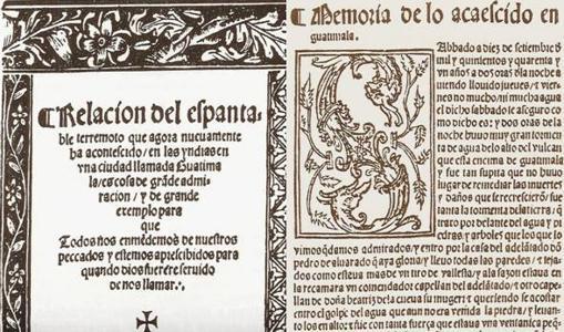 Relato impreso en México en 1541