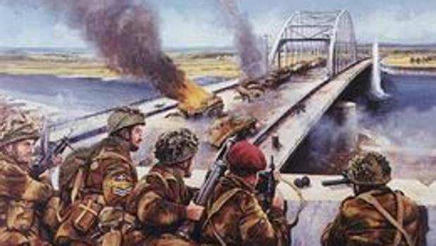 Los paracaidistas británicos defienden el puente