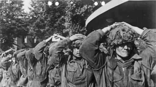 Prisioneros británicos tras la contienda