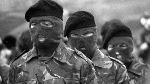 Miembros del IRA provisional