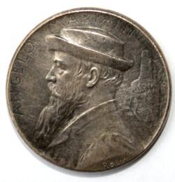 Moneda con el retrato de Angelo Marian