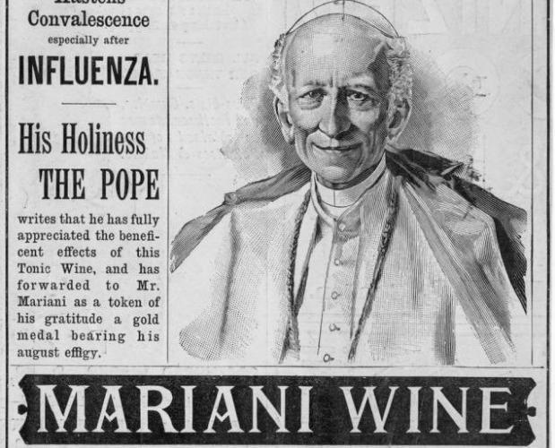 Publicidad del Vino Mariani