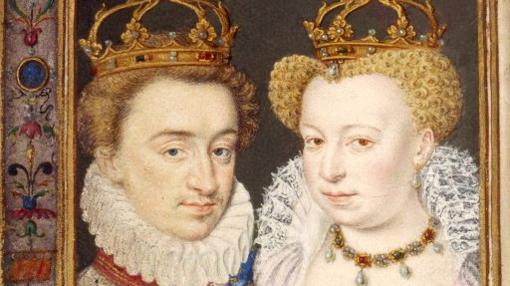 Enrique III de Navarra y Margarita de Valois