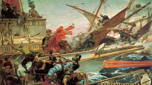 Combate naval en Lepanto