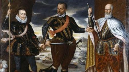 Los representantes más destacados de la batalla (bando cristiano)