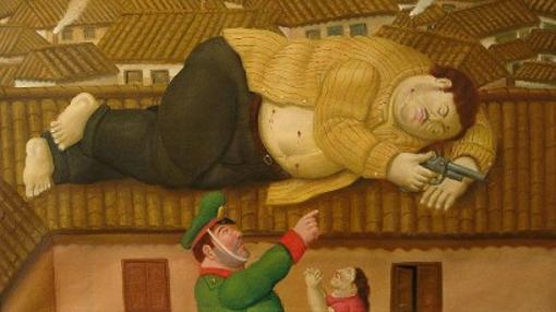 Pablo Escobar Muerto., la particular visión de Fernando Botero