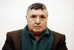 Fotografía de Totò Riina tras su detención